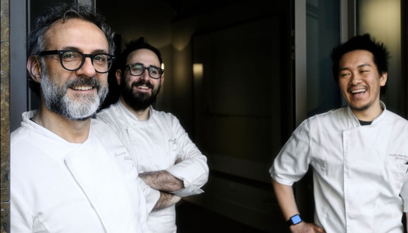 """A Table for Ten at Massimo Bottura's """"Great Arrival Dinner"""""""