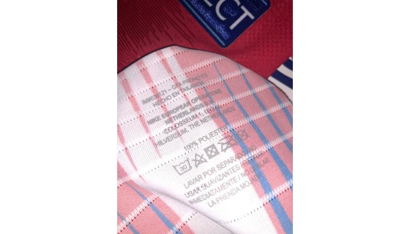 Koke's Match Shirt, Atletico Madrid-Juventus 2019