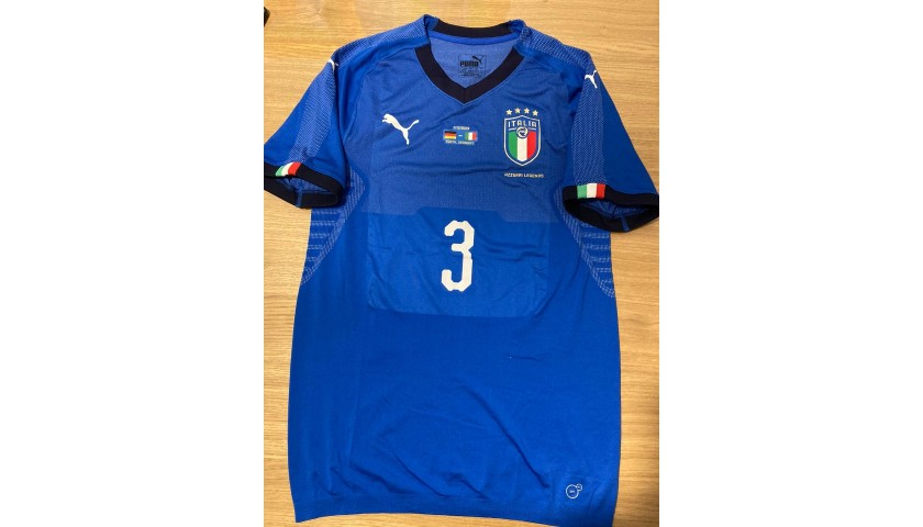 Grosso's Match Shirt, Germany-Italy Legends 2019