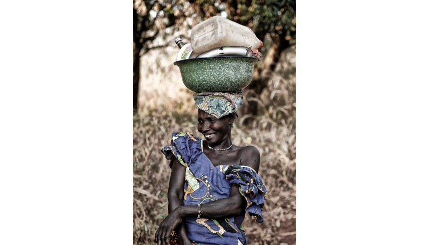 "Artistic Photograph from the ""Women of Africa"" Series"