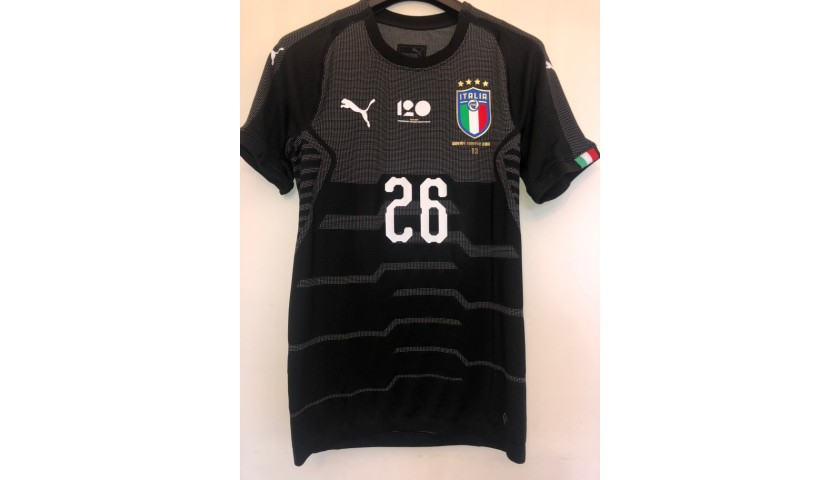 Donnarumma's Match Shirt, England-Italy - Special Patch