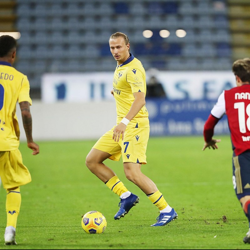 Barak's Match Issued Shirt, Cagliari-Hellas Verona - Coppa Italia 2020