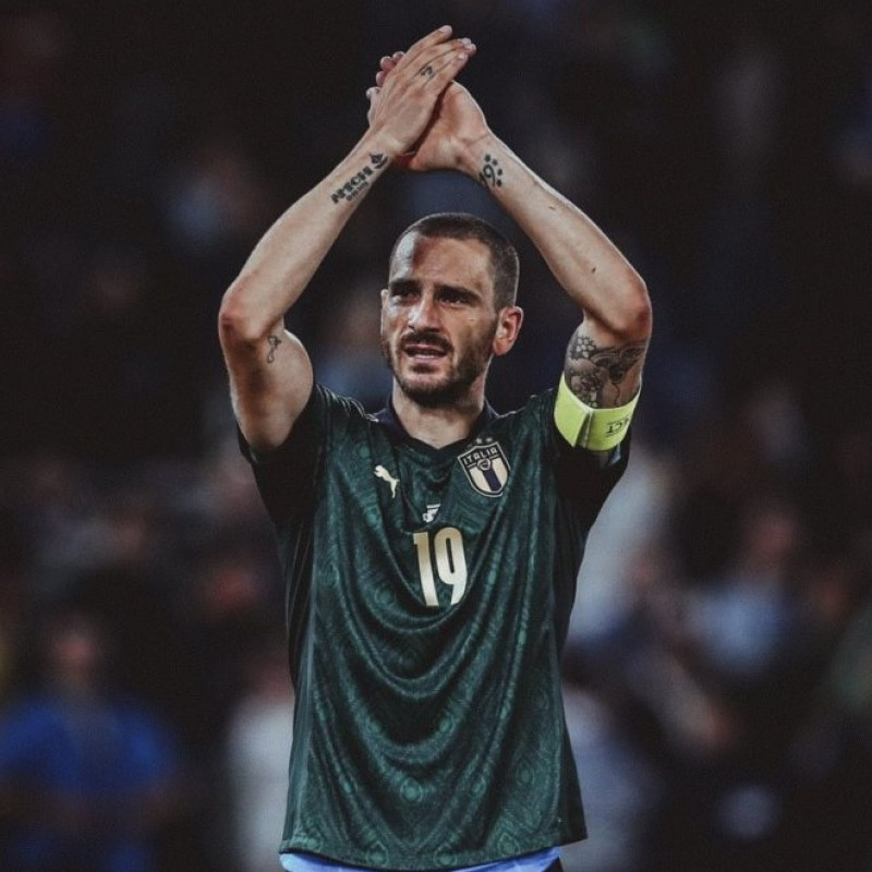 Bonucci's Match Shirt, Italy-Greece 2019