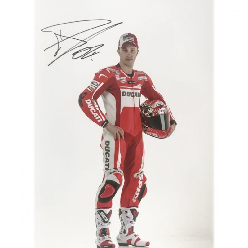 Photograph Signed by Andrea Dovizioso
