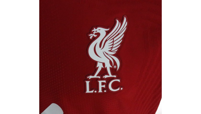 Robertson's Liverpool FC Match-Issued and Signed Shirt, Limited Edition 20/21