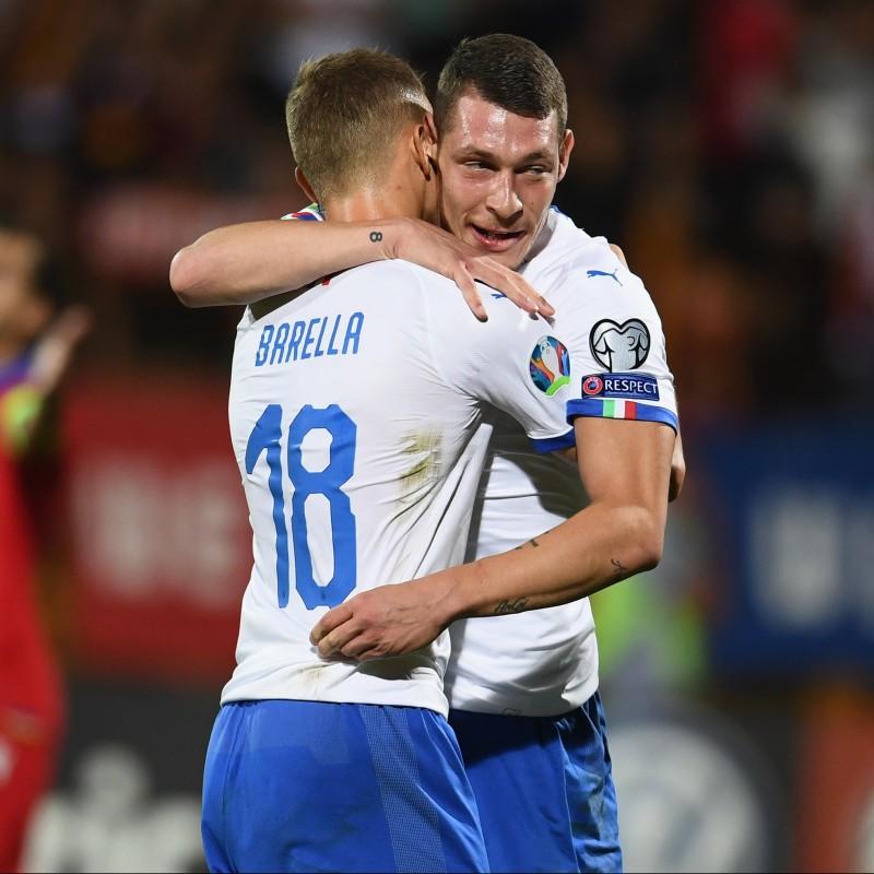 Belotti's Match Shirt, Armenia-Italy 2019