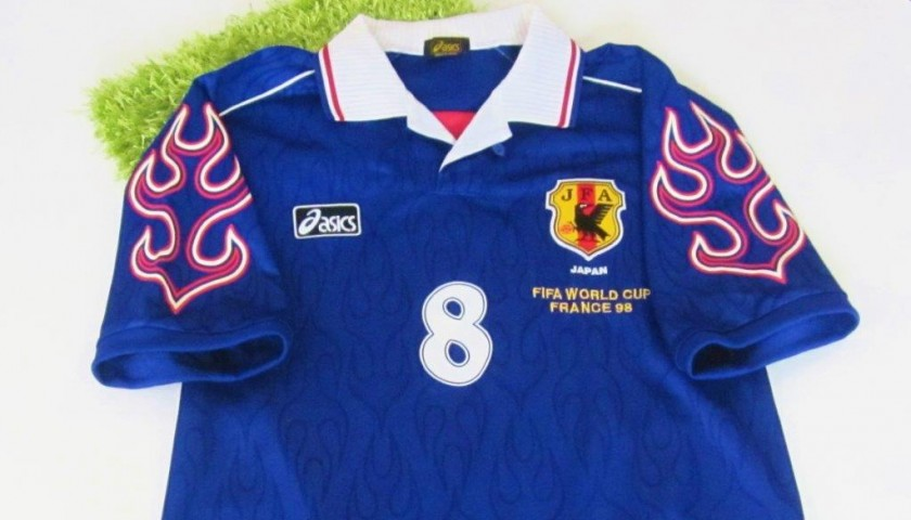 sale retailer 2b092 c4231 Nakata Japan shirt, FIFA WorldCup France 1998 - CharityStars