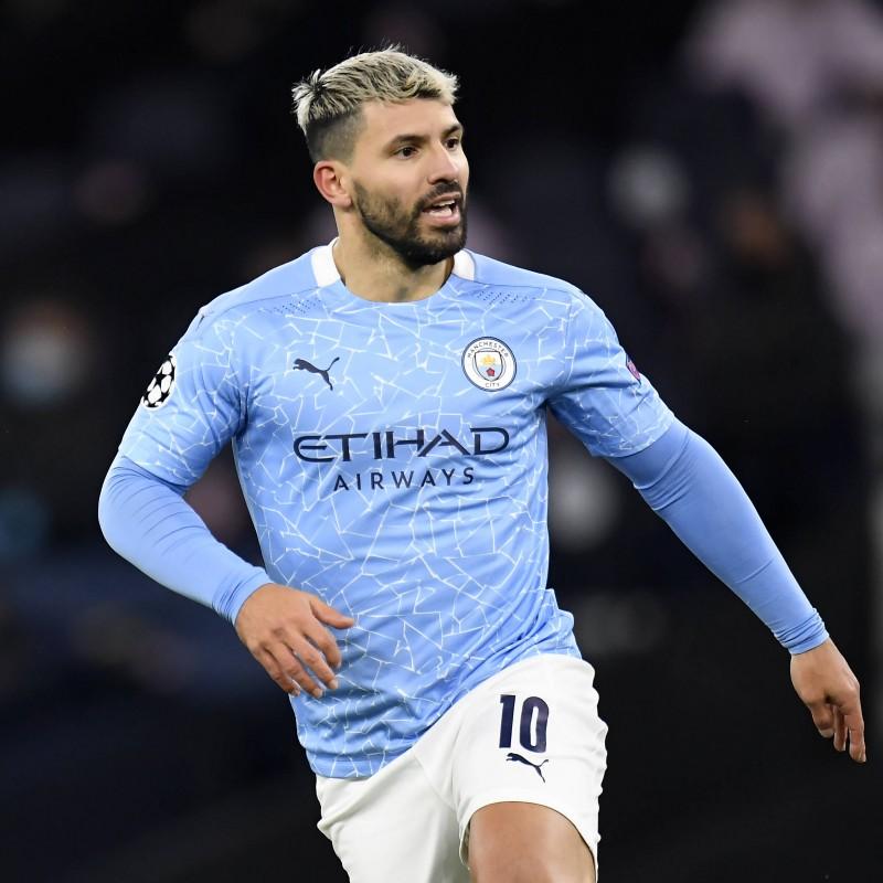 Aguero's Match Shirt, Manchester City-PSG 2021