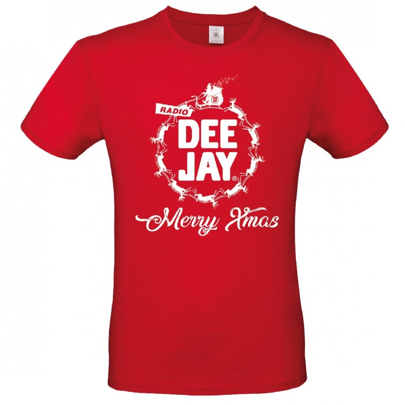 Official Radio DeeJay T-Shirt - Signed by the deejays - Size M