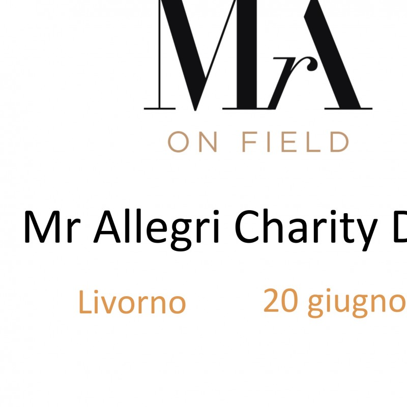 A gala dinner with Max Allegri, Juventus coach