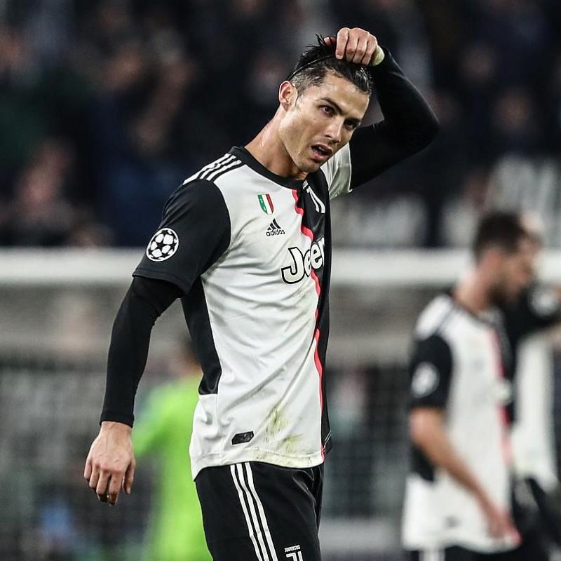 Ronaldo's Juventus Match Signed Shirt, UCL 2019/20