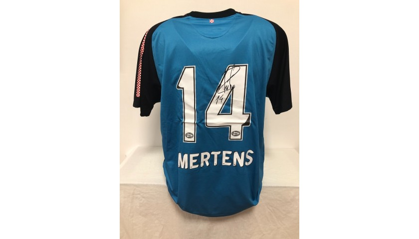 Mertens' Official PSV Signed Shirt, 2011/12
