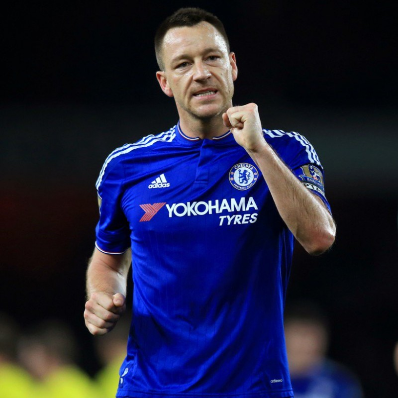 Terry's Official Chelsea Signed Shirt, 2015/16