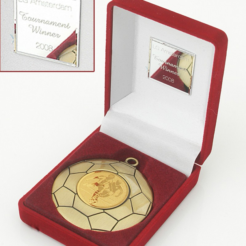 Arsenal FC Players' Winners Medal, from the 2008 LG Amsterdam Tournament
