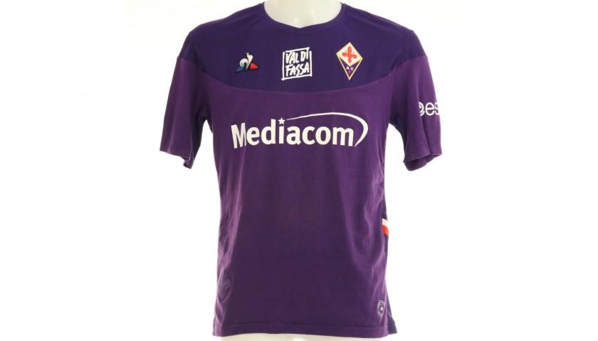 Castrovilli's Worn Shirt, Fiorentina-Lecce 2019 - Unwashed