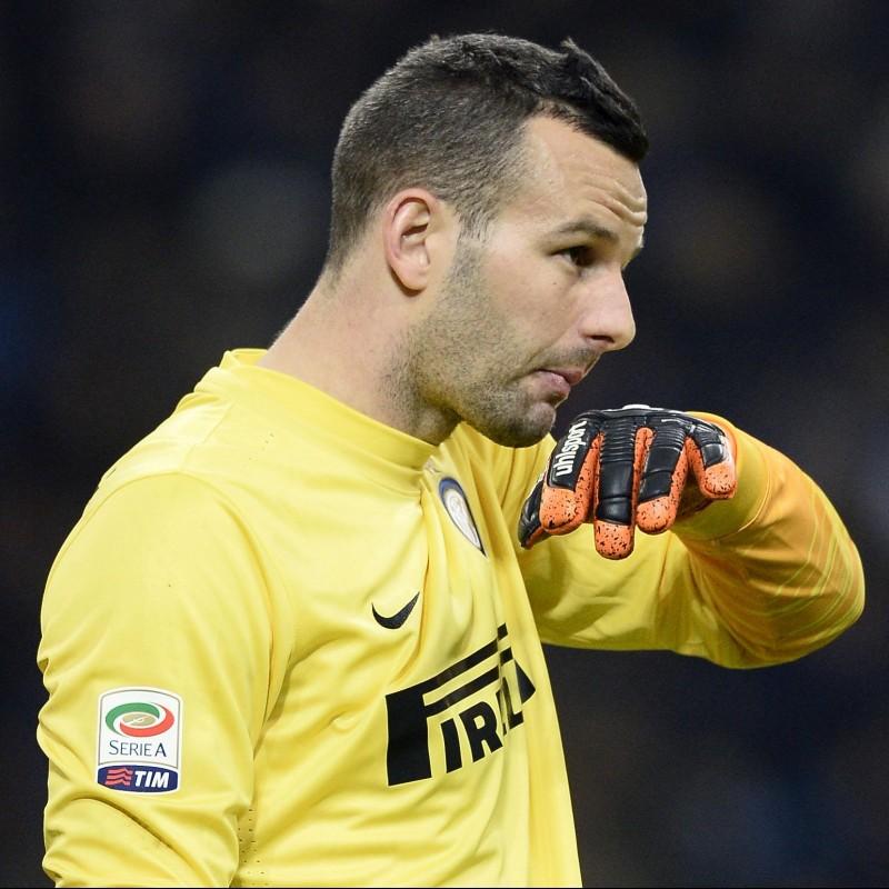 Handanovic's Match Shirt, Inter-Udinese 2016 - OSF Patch