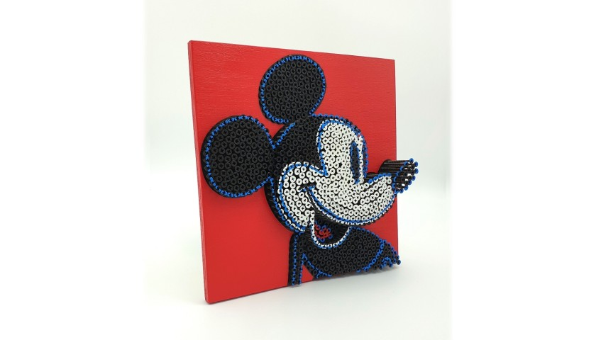 """Mini Mickey Mouse Warhol"" by Alessandro Padovan"