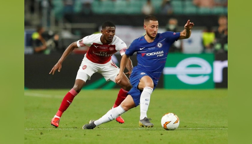 Match-Ball EL 2018/19 - Signed by Hazard