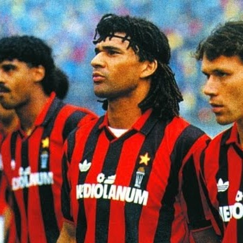 Gullit's AC Milan Match Shirt, 1991/92 Season