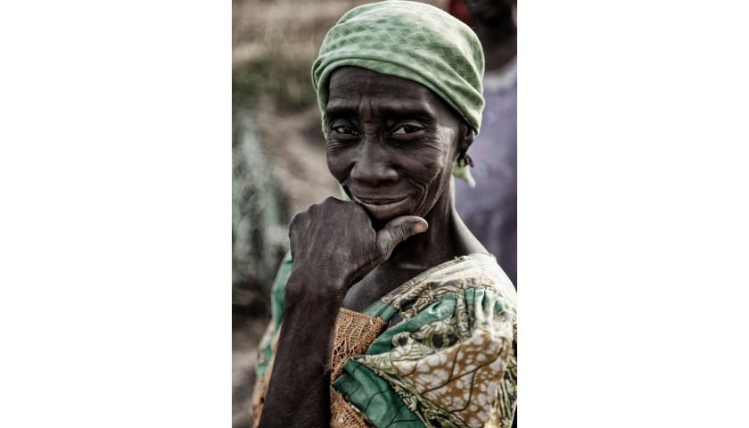 """Artistic Photograph from the """"Women of Africa"""" Series"""