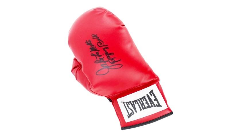 Everlast Boxing Glove Signed by Jake LaMotta