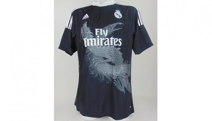 84499077e James Signed Black 2014 15 Real Madrid Football Shirt - CharityStars