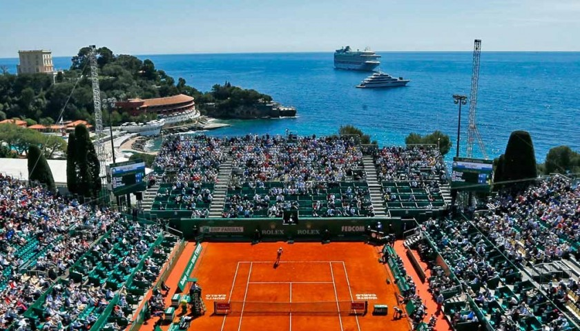 Enjoy 2nd & 3rd Rounds of ATP Monte Carlo Rolex Masters from the Players Gallery