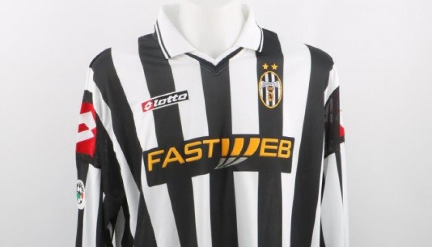 pretty nice dba6e 5a485 Del Piero Juventus shirt, issued/worn Serie A 2001/2002 - signed -  CharityStars