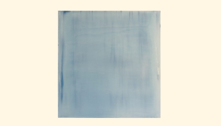 """Untitled"" Blue Artwork by Willy De Sauter"