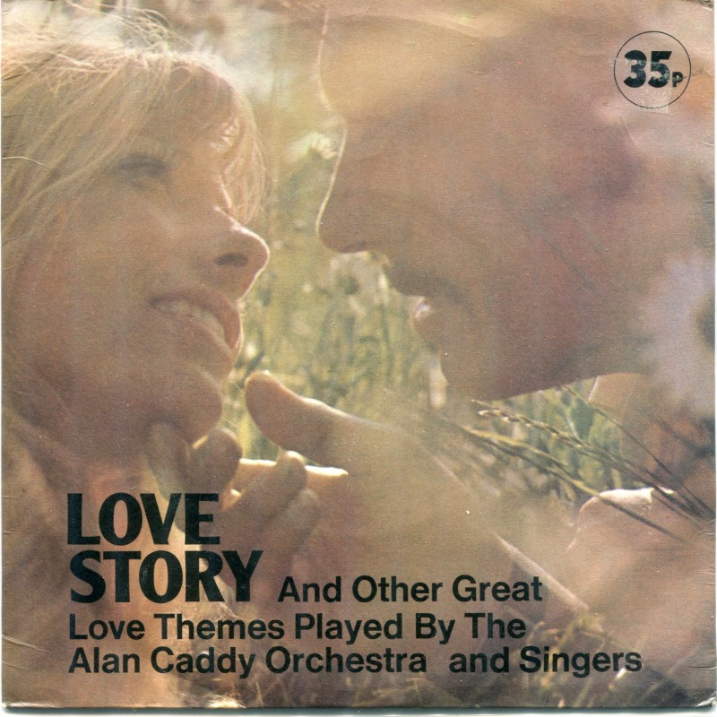 """""""Love Story"""" Vinyl Album - The Alan Caddy Orchestra And Singers, 1961"""