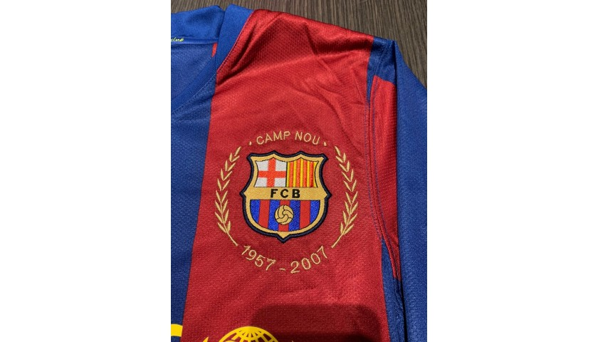 Messi's Barcelona Signed Match Shirt, 2007/08