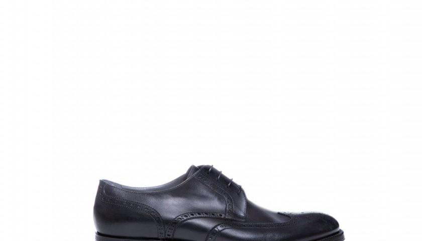 promo code a6f36 6e6bf Scarpe Moreschi nere in pelle di vitello - CharityStars
