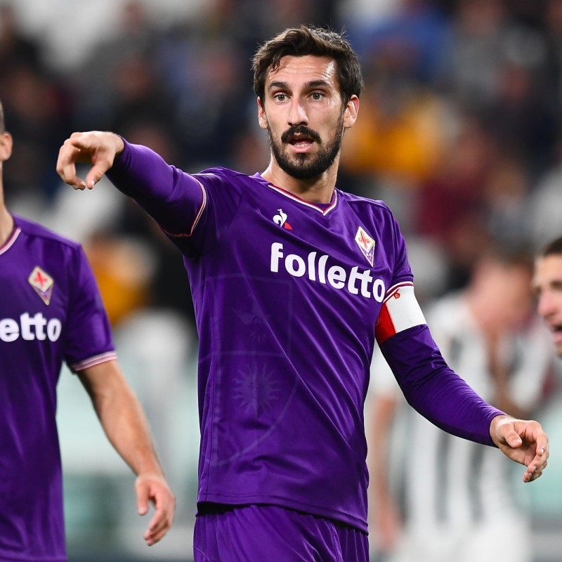 Astori's Signed Match-Worn Shirt with UNICEF Patch, Spal-Fiorentina