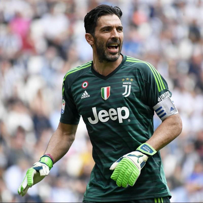 Buffon's Official 2018/19 Juventus Signed Shirt - #UN1CO