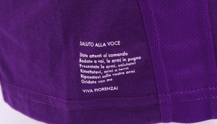 Chiesa's Fiorentina Match-Issue/Worn and Signed Shirt