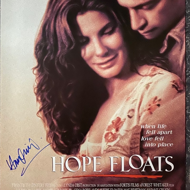 Harry Connick Jr. Signed Hope Floats Original Movie Poster