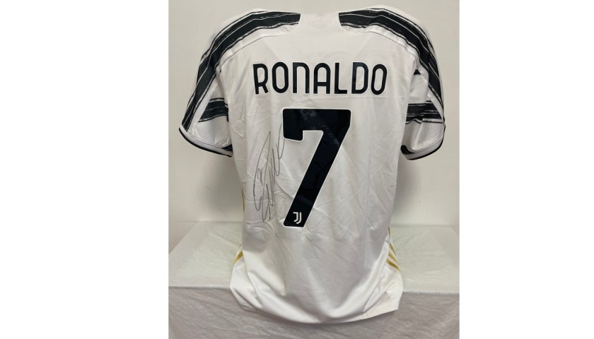 Ronaldo's Official Juventus Signed Shirt, 2020/21