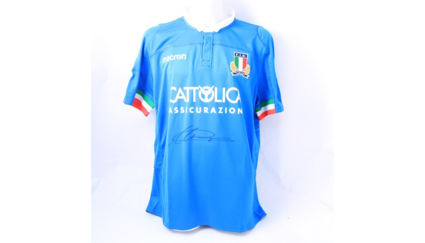 Campagnaro's Official FIR Signed Shirt, 2018/19