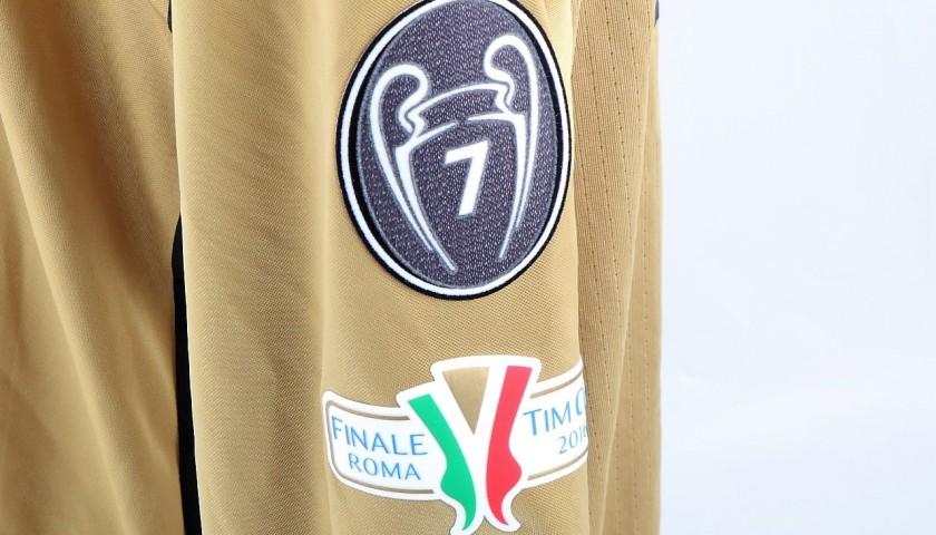 Donnarumma Match-Issued Shirt, 2016 TIM Cup Final