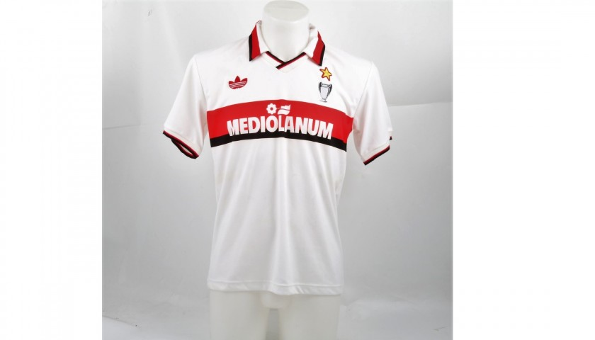 Donadoni's Milan Match-Worn 1990/91 Shirt