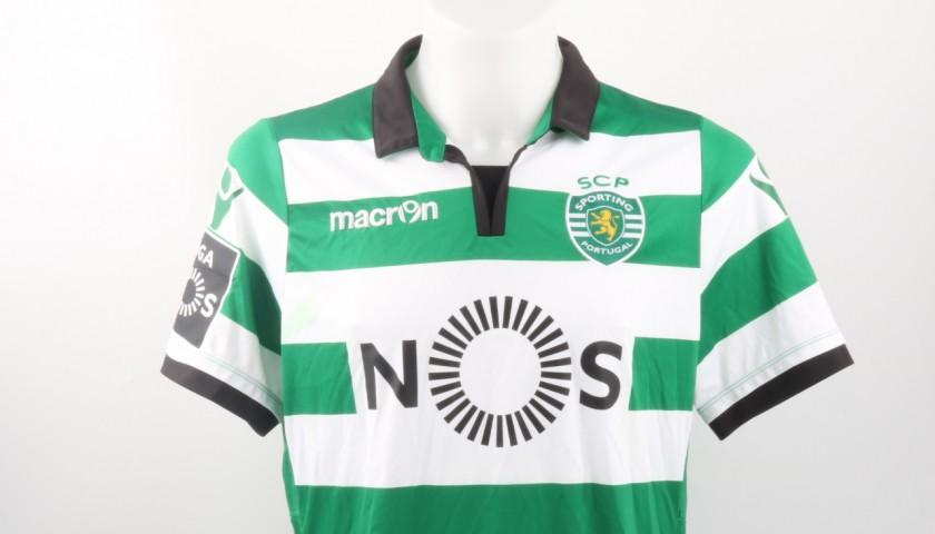 Bryan Ruiz Goal Match Worn Shirt, Estoril-Sporting CP 25/02/2017