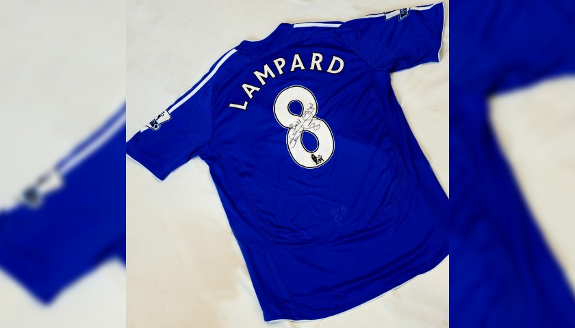 Lampard's Chelsea FC Signed Shirt