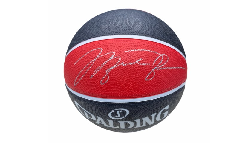 Official Chicago Bulls Basketball - Signed by Michael Jordan
