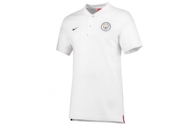Manchester City Nike Polo Shirt - S
