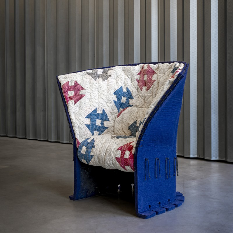 Limited Edition Feltri Armchair by Gaetano Pesce for Cassina