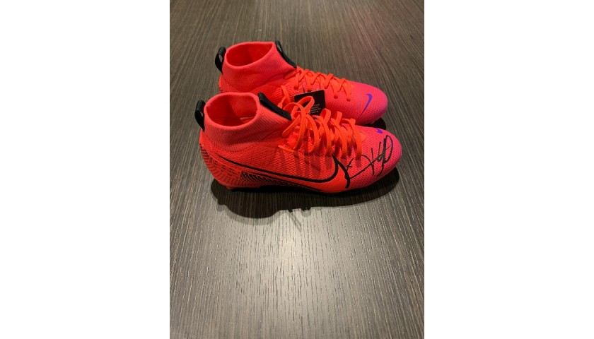 Nike Mercurial Boots - Signed by Mbappe