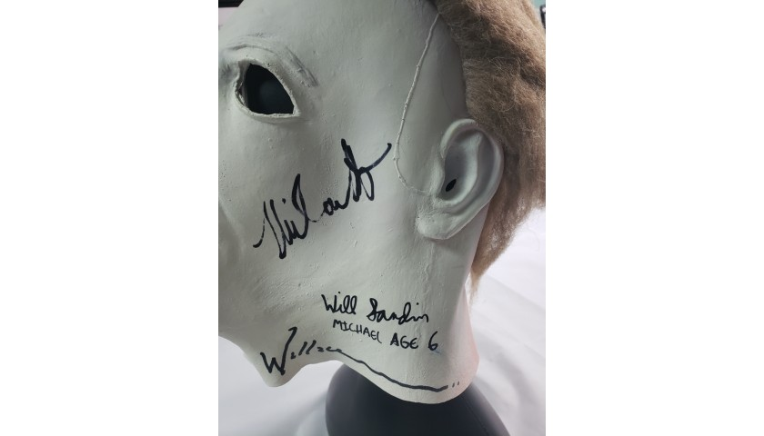 "Michael Myers ""Halloween"" Hand Signed Mask"