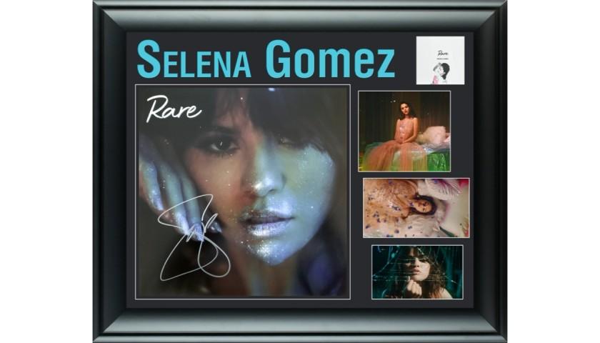 Selena Gomez Signed Display