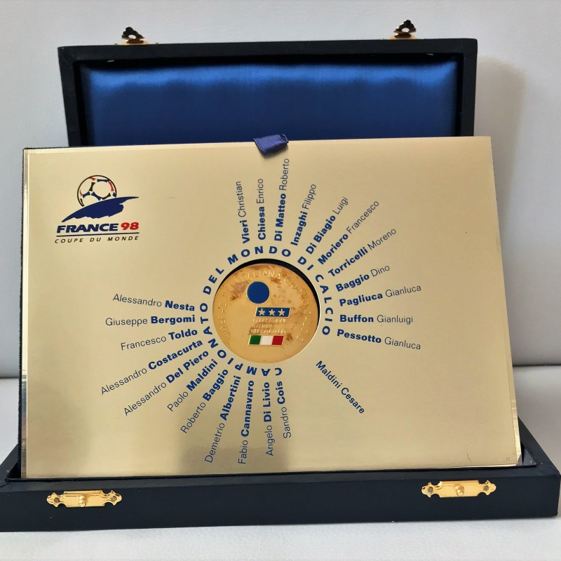 FIGC World Cup 1998 Commemorative Case