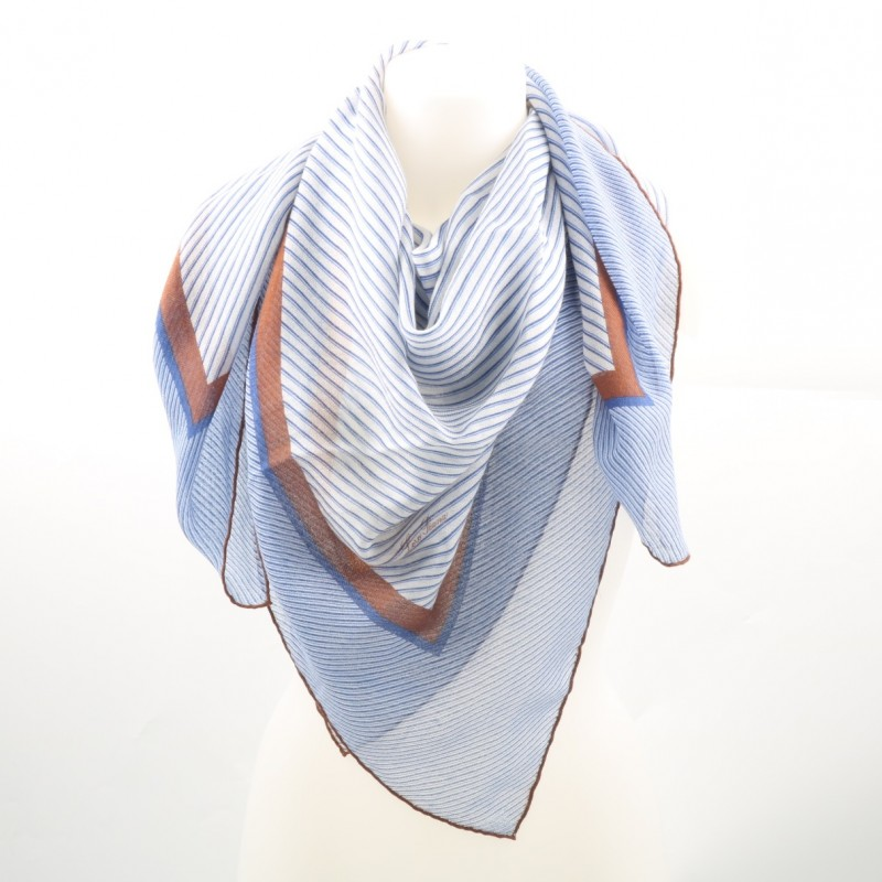 Own this exclusive Silk and Cashmere Foulard by Loro Piana